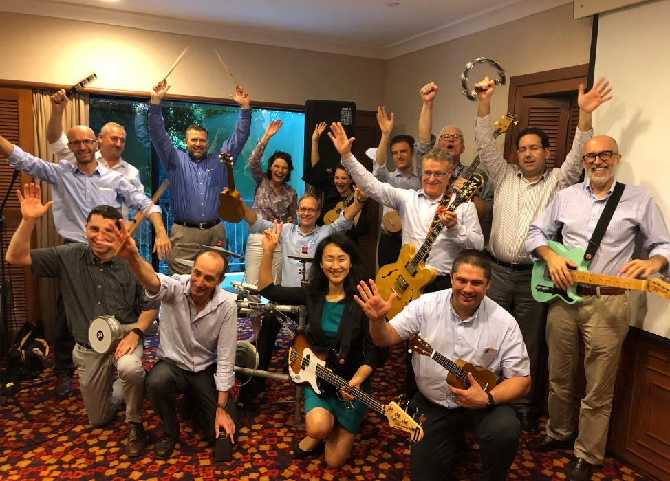 LATEST TEAM MUSIC AUSTRALIA - TEAM BUILDING AT SYDNEY AND MELBOURNE