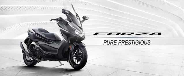 PT AHM Memberikan Penyegaran pada Honda Forza 250, Tampil Semakin Mewah dan Prestisius