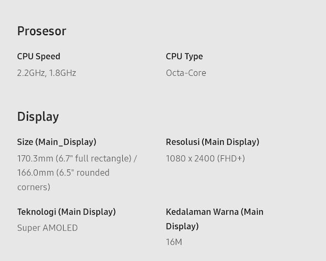 Samsung Galaxy Blackpink Edition A80  Serta Spesifikasi (Stok Terbatas)