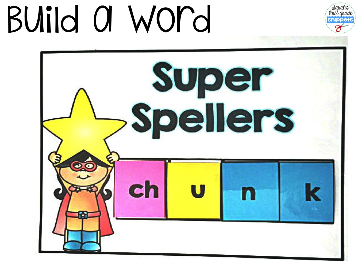 Build a Word with Digraphs Teaching Ideas Nonsense words