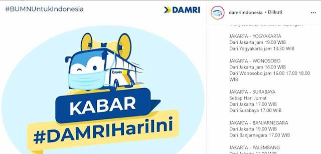 Damri Jakarta Jogja: Harga Tiket & Jadwal Terbaru di New Normal