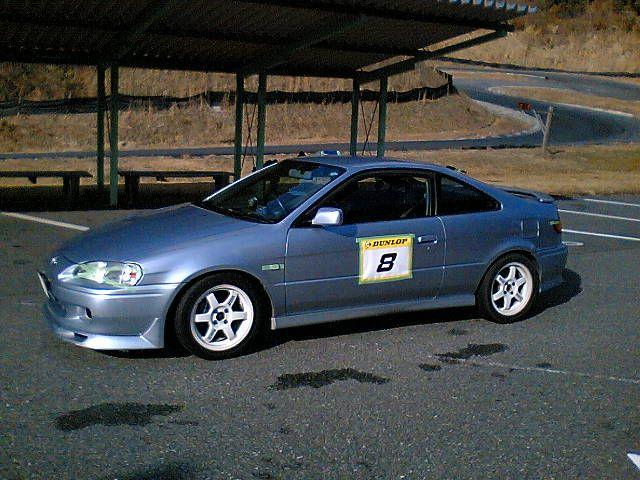 Toyota Paseo Cynos niedrogie coupe japońskie tuning wyścigi racing 日本車