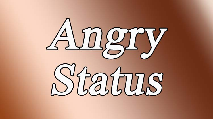 Angry Status