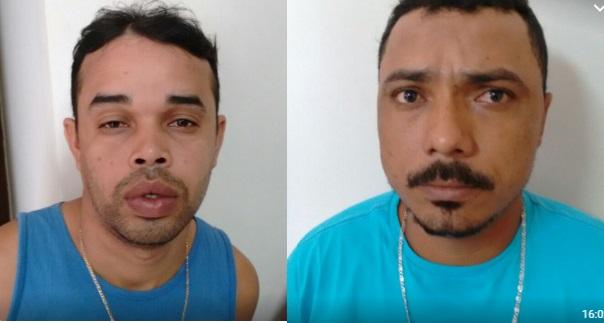 Caxias: Dupla é presa com tablete de maconha prensada