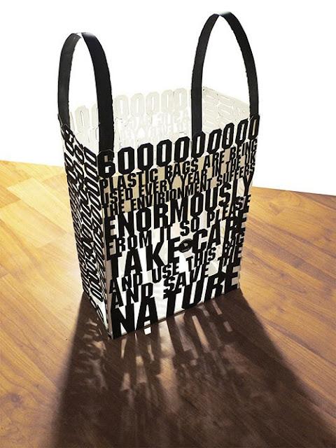 Desain Paper Bag/ Tas Belanja  transparan