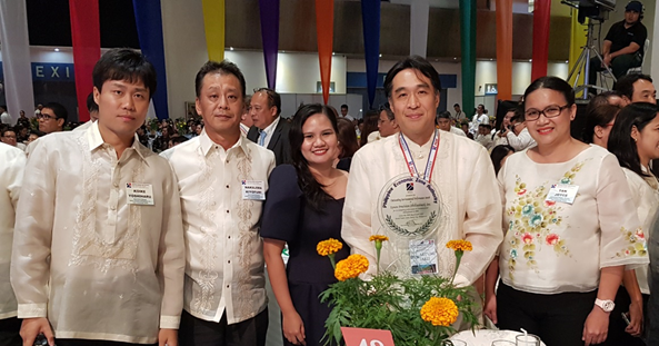 Epson receives PEZA Outstanding Environmental Performance Award
