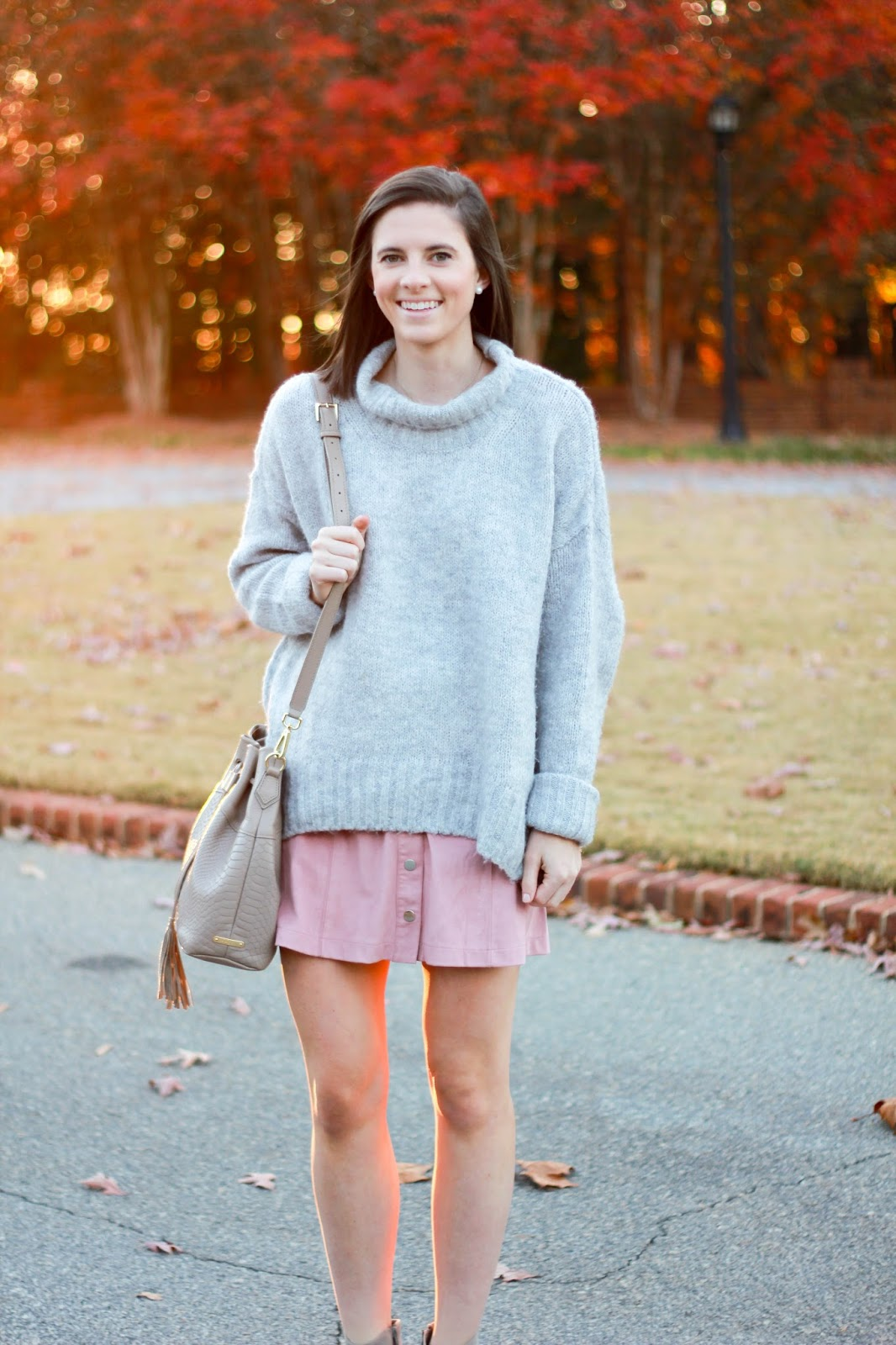 Prep In Your Step Suede Skirts \u0026 Chunky Sweaters