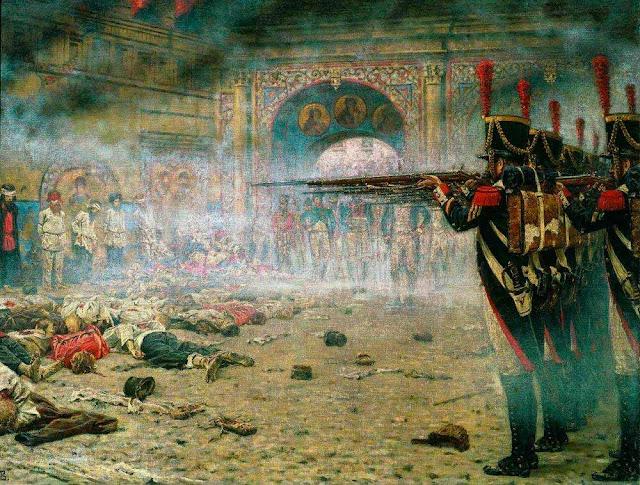 Василий Васильевич Верещагин - В покоренной Москве (Поджигатели или Расстрел в Кремле). 1897-1898