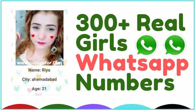 Real Girl Whatsapp Numbers List For Friendship