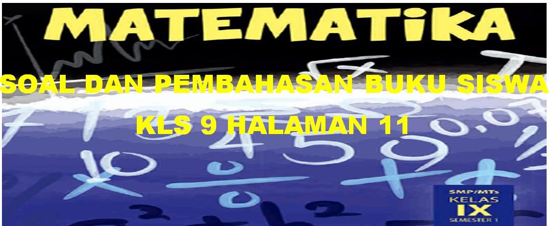 Jawaban Buku Matematika Kelas 7 Semester 2 Halaman 11 ...