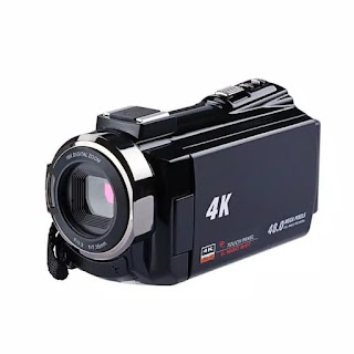 Camcorder HDV-524KM 4K Wifi 48MP 16X Zoom Microphone