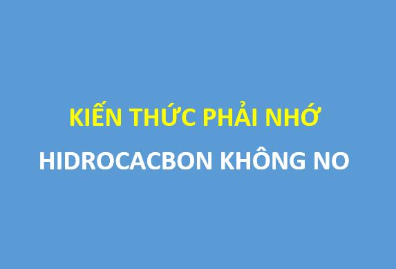 [Hidrocacbon không no] - Full lý thuyết và các dạng bài tập cần nắm chắc