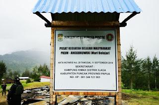 Satgas Nemangkawi: Rumah Yang Dibakar KKB adalah Pusat Kegiatan Belajar Masyarakat