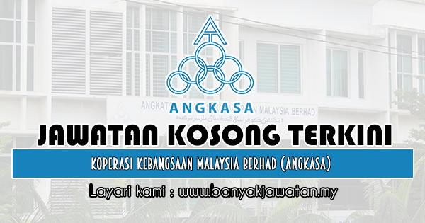 Jawatan Kosong 2019 di Koperasi Kebangsaan Malaysia Berhad (ANGKASA)