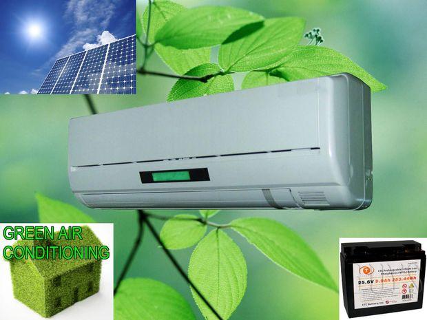 أنظمة الطاقة الشمسية Solar Powered Air Conditioning Unit