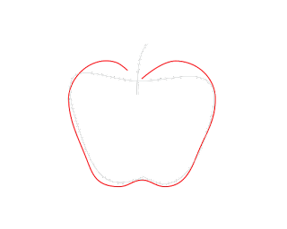 HOW-TO-DRAW-AN-Apple