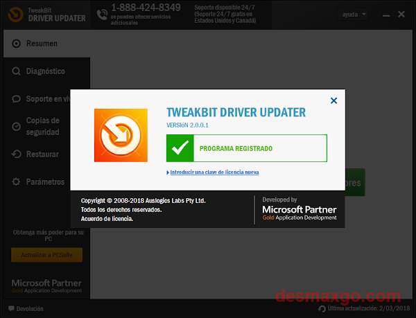 Descargar TweakBit Driver Updater 2 Full captura 5