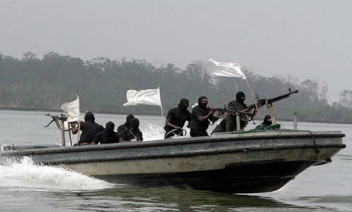 THE Nigerian Navy has warned sea pirates and other criminals operating within the nation's waterways to leave or be ready to be crushed by its men
