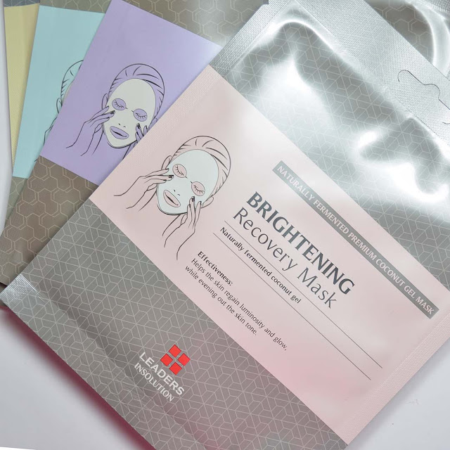 coconut gel sheet mask