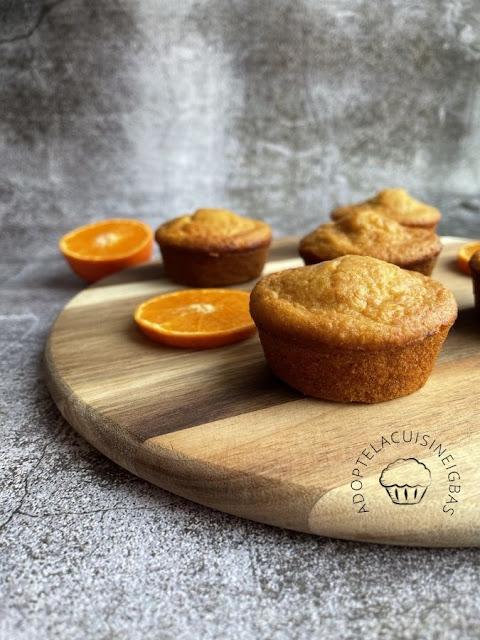 Muffins à la mandarine et à la cannelle