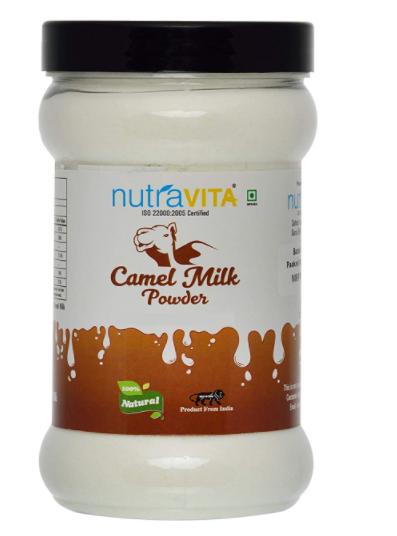 Nutra Vita Camel Milk Powder 250 Grams (Freeze Dried,Gluten Free, No Additives, No Preservatives)