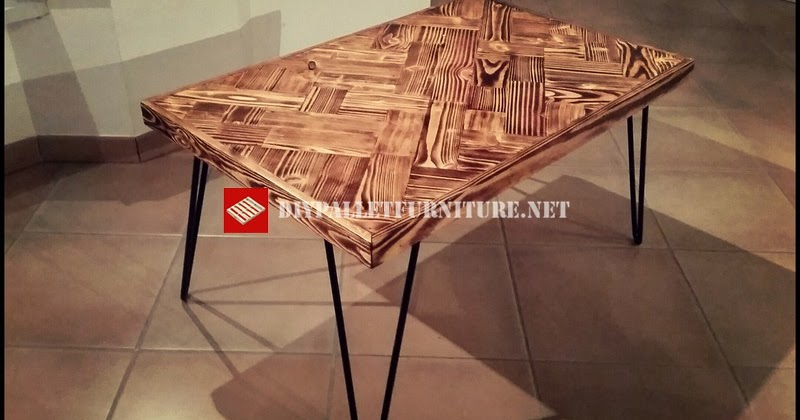 Mesa de estilo retro - Muebles las quemadas ...
