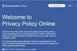 Cara Membuat Privacy Policy Blog Terbaru