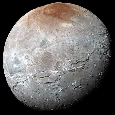 Pluto's largest moon - Charon