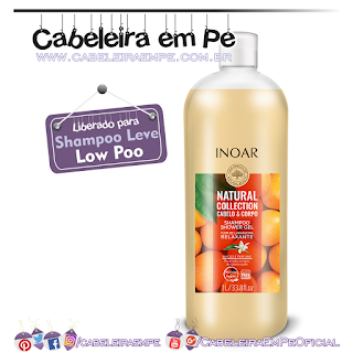 Shower Gel e Shampoo Flor De Laranjeira Natural Collection - Inoar (Low Poo)