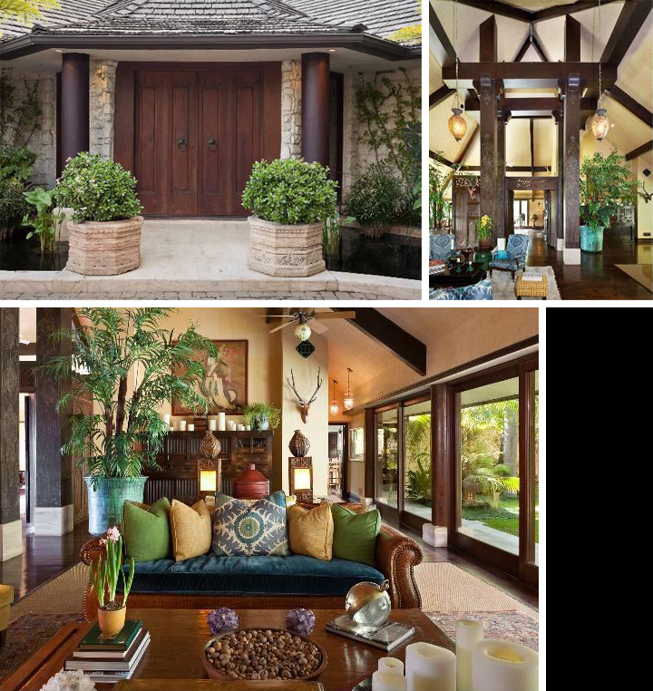 Balinese Home Decor: The Real Estalker: Cheryl Tiegs Lists Balinese Style House