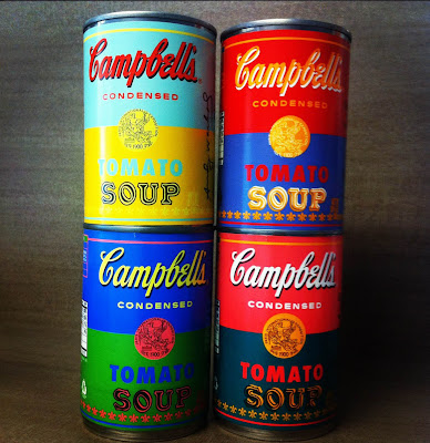 2012 version of Warhol-Inspired Campbell's Soup Cans