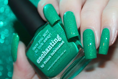 "Swatch of the nail polish ""Enchanting"" from Picture Polish"