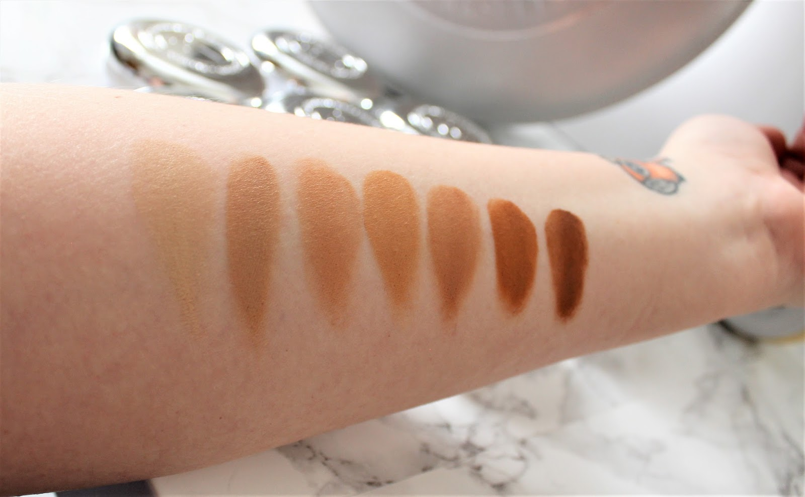 It Cosmetics Serum Foundation Swatches