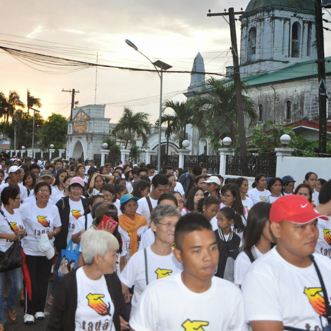 """TADA Walk"" - Walk for the Poor, Walk with the Poor"