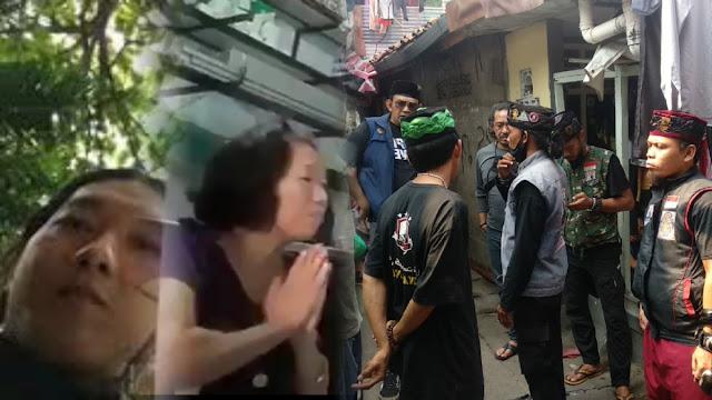 Warga Datangi Rumah Pembakar Foto UAS-HRS, Pelaku Kabur, Mamanya Minta Maaf