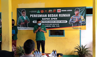 GP Ansor Progam Bedah Rumah