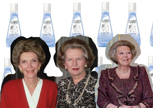 Nancy Reagan, Margaret Thatcher, Königin Beatrix