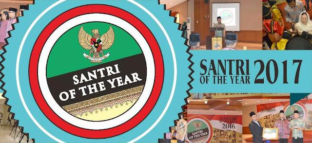 Inilah 10 Peraih Penghargaan Santri Of The Year 2017