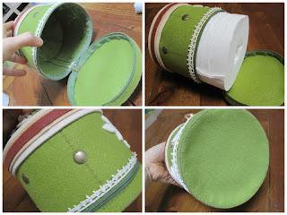 картинка короб для салфеток или туалетной бумаги своими руками