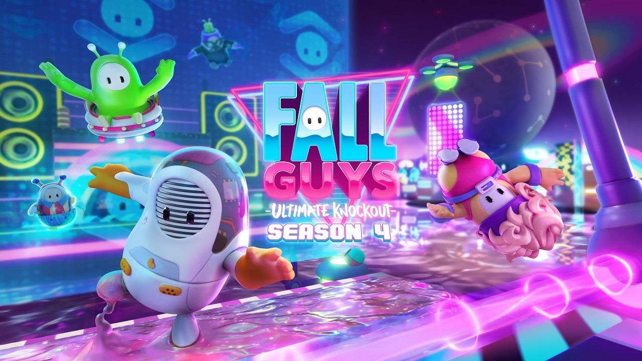 Fall Guys Season 4 Heads Back To The Future on March 22