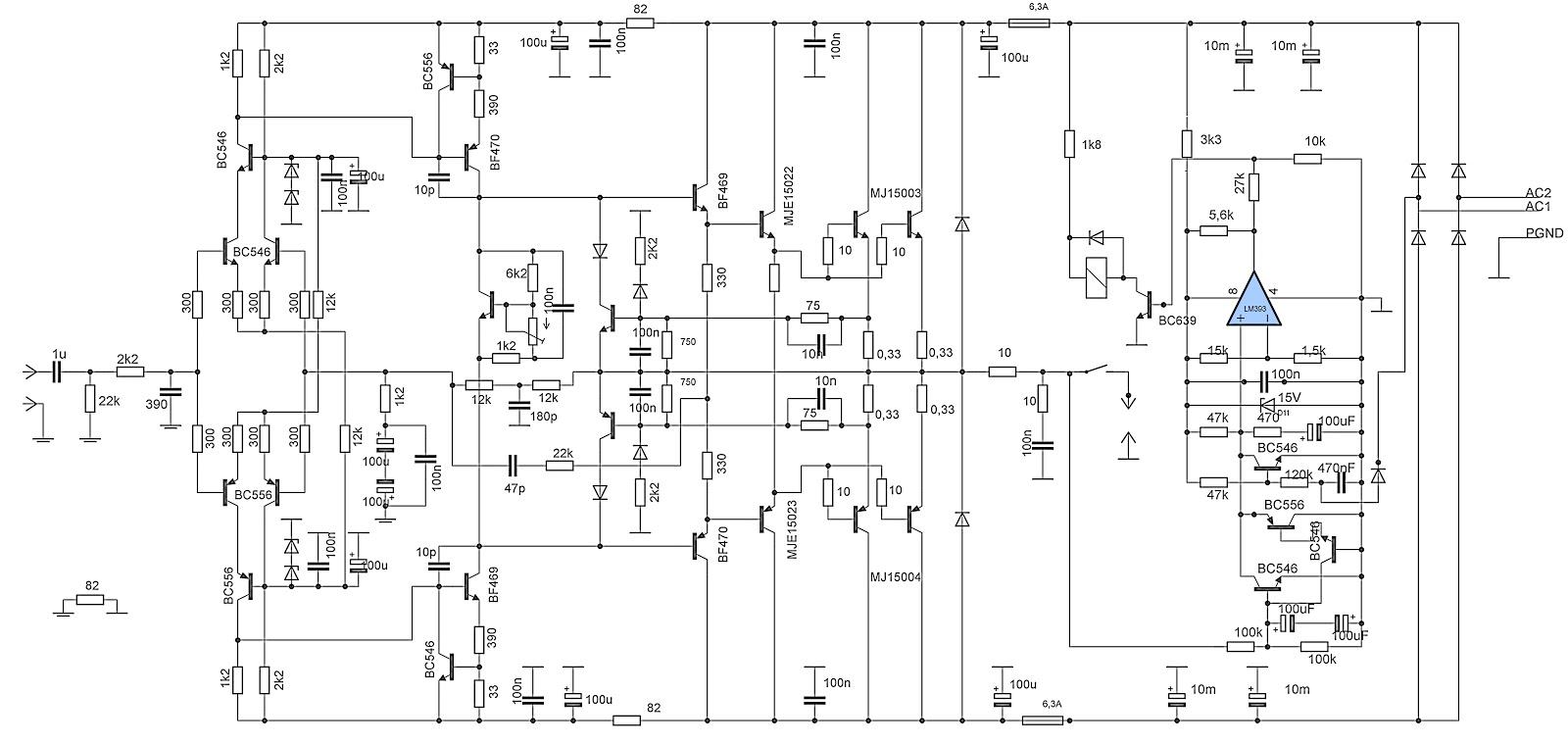 High End Tube Amplifier Schematics Highend Power Circuit Electronic Elcircuit Com Car 1600x759