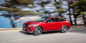 Mercedes 2016 Model GLE 450 AMG Coupe