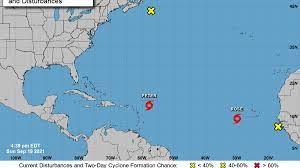 Onamet vigila huracán, tormenta, onda tropical y vaguada