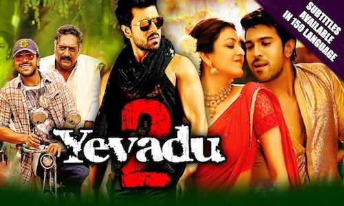 Yevadu 2 2016 Hindi Dubbed 480p HDRip 350mb