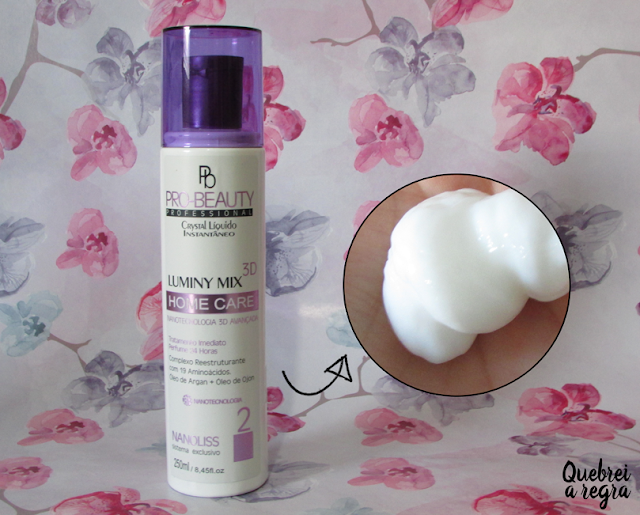 Shampoo e condicionador Pro Beauty Luminy Mix 3D - Nanoline
