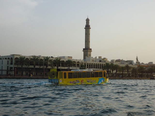 Wonder bus at Dubai Creek