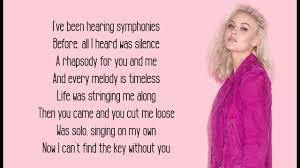 Symphony Lyrics Clean Bandit