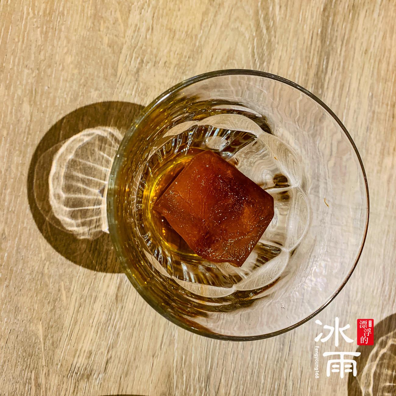 冰的茶磚是特色之一