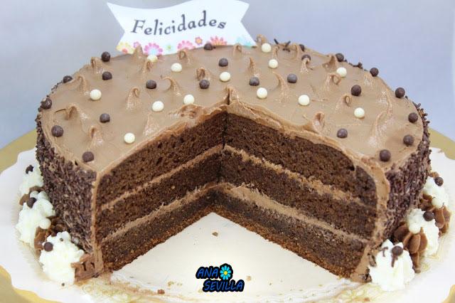 Tarta de buttercream de nutella Thermomix Ana Sevilla