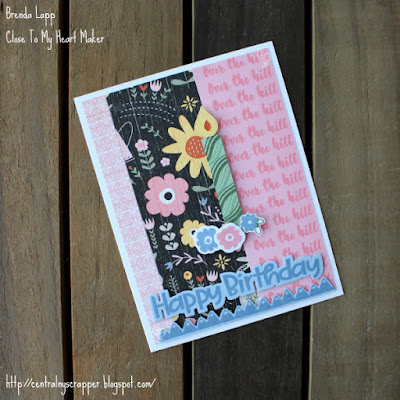 card created with Outdoor Borders